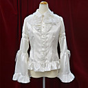 Long Flare Sleeve Cotton Aristocrat Lolita Blouse