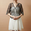Half Sleeve Tulle Evening/Casual Wrap/Jacket(More Colors)