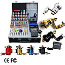 8 Rotary Tattoo Machine Kit with LCD Power and 40 Color Ink