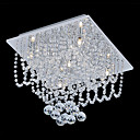 Crystal Beaded Ceiling Light with 5 Lights in G4 Base