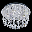 Crystal Beaded Ceiling Light with 15 White Light in G4 Base