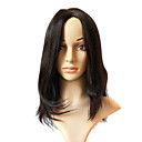 Sexy Hot Sale 100% Indian Remy Long Black Wavy Full Lace Wig
