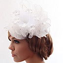 Beautiful Silk Screen/Organza With Rhinestone Wedding/Bride Headdress Flower