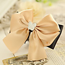Women's Elegant Pure Champagne Bow Hair Clip