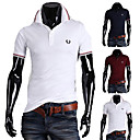 Men's Fashion Thin Short Sleeve POLO T-shirt