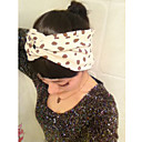 Women's Vintage Dot Wide Hair Band