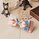 Women's Elegant Almond Bow Handmade Hair Tie