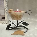Belle conception Candle Holder Oiseaux / Lanterne