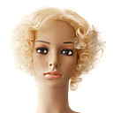 Lace Front 100% Indian Remy Hair Short Curly Wigs Multiple Colors Available