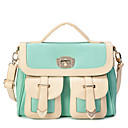 Elegante PU Shopping / Casual Bolsa de Ombro / Top Saco do punho (mais cores)