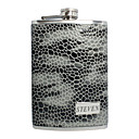 Gepersonaliseerde Stone Design 9-oz Flask