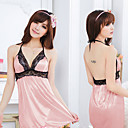 Women's Pink Lace Chemise(Fit S-L)