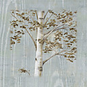 Printed Art Floral Birch Study II by NBL Studio