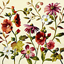 Printed Art Botanical Floral Lisa's 1 Garden by Lisa Audit