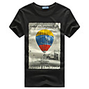 Marcos William Baln de impresin Camiseta de algodn