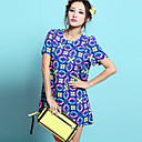 Women's Chiffon Print A-line Dress