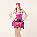 Pretty Cool Lila und rosa Satin Pirate Uniform (4 Stück)