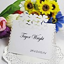 Floral Cut-out Place Card (Set of 12)