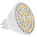 MR16 3.5W 48x3528 SMD 210-230LM 3000-3500K Warm White Light Bulb Spot LED (12V)