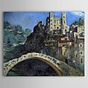 Famous Oil Painting Dolceacqua by Claude Monet