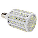 B22 19W 330-LED 1000-1100LM 8000-8500K Cold White Light LED Corn Bulb (85-265V)