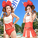 Women's Fashion Cute Three-piece Swimsuit