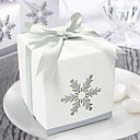 Nice Snow Cut-out Favor Box (Set of 12)