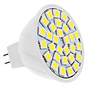 MR16 5W 30x5050 SMD 400-420lm 6000-6500K Natural White Spot Light Bulb LED (12V)