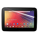 PET Material Tablet Screen Protector for Google NEXUS 10 (Highly Transparent Membrane)