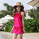 Cute Four-piece Ruffles Swimwear