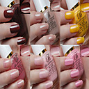 Round Bottle Paint Light Nail Lacquer Set(15ML*6)