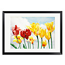 Framed Art Print Floral Essence Of Spring by Nancy Wernersbach