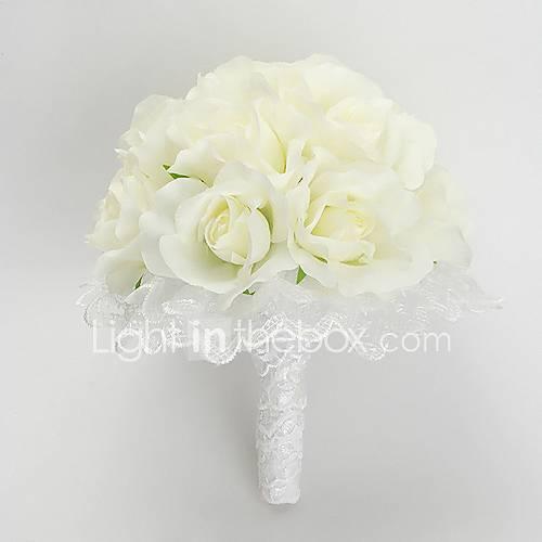 Cascade Bridal Bouquets - Wedding Flowers - Beautiful Silk Wedding